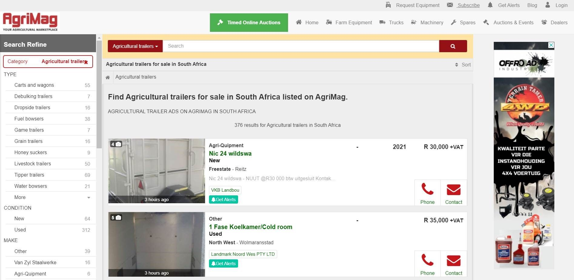 AgriMag Search Results Banner