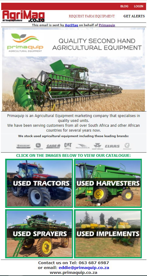 Third-party Email Campaigns   AgriMag