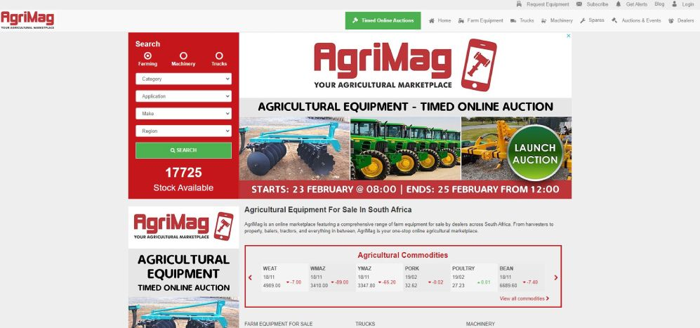 List your agricultural products on AgriMag