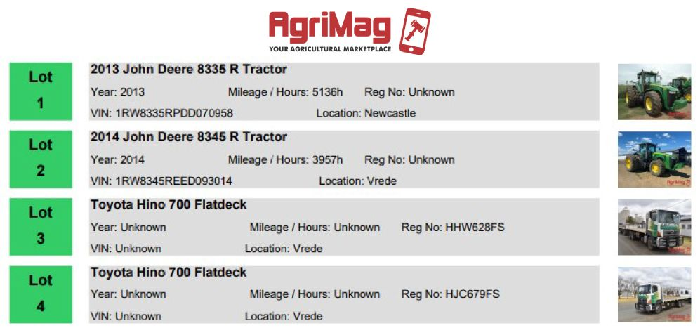 Understanding Agricultural Equipment Timed Online Auctions | AgriMag