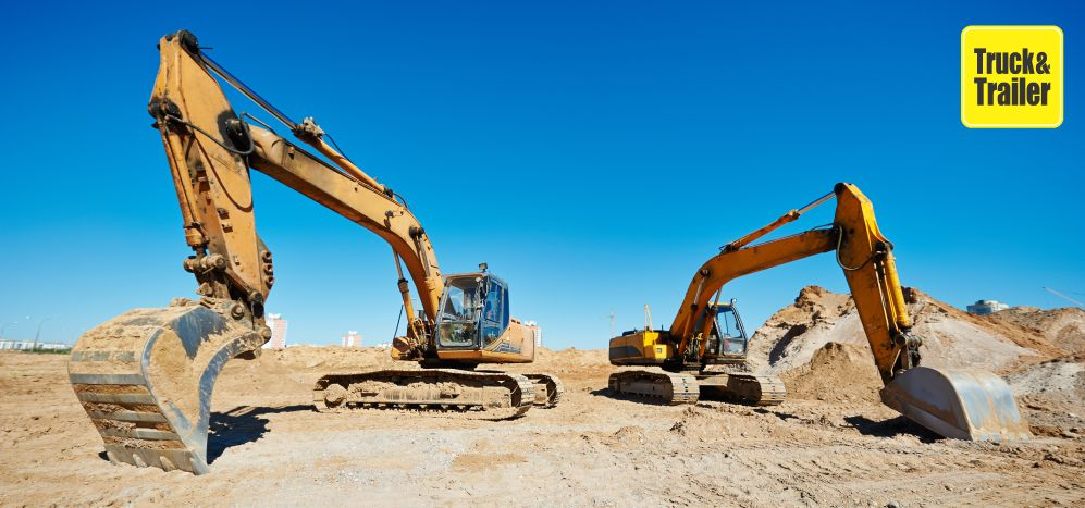 Find Excavators for sale on Truck & Trailer