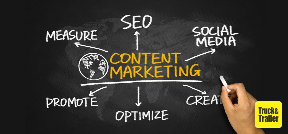 Create content for your commercial vehicle business | Truck & Trailer
