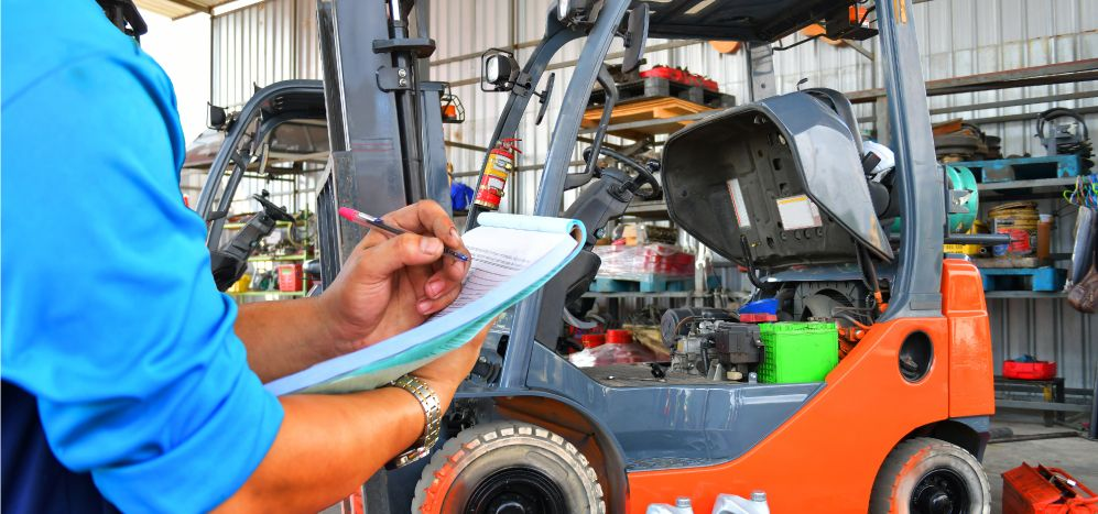 Things to consider before buying a used forklift